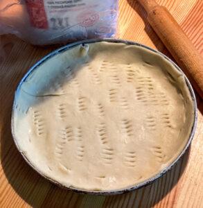 корзинка для пирога киш