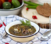 Грибной суп: рецепт из белых грибов