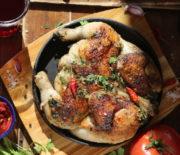 Цыпленок тапака: или цыпленок «табака»