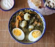 Щавелевый суп с яйцом или зеленый борщ