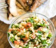 Табуле: сытный салат с булгуром и зеленью