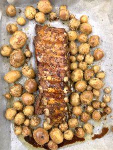 свиные ребра с молодым картофелем рецепт