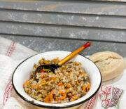 Гречка с овощами и грибами: вкусный гарнир