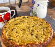 Сырный пирог с кабачками: рецепт для мультиварки