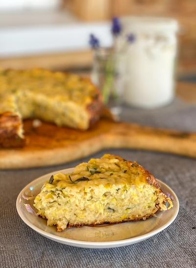 пирог из кабачков и сыра рецепт