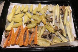 овощи запечные